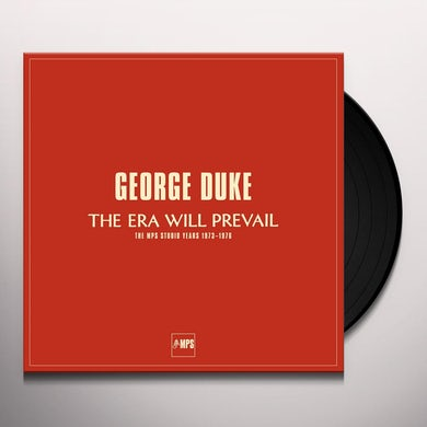 George Duke THEY WILL PREVAIL (BOX) Vinyl Record - UK Release