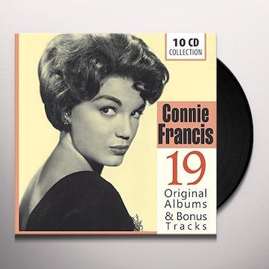 Connie Francis 19 ORIGINAL ALBUMS & BONUS  (GER) Vinyl Record - 10 Inch Single