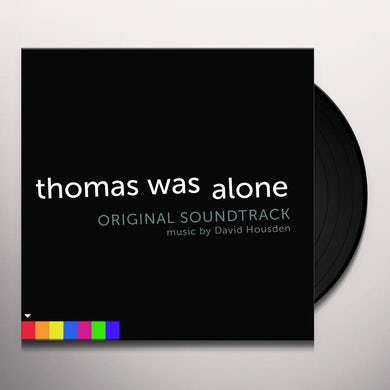 David Housden THOMAS WAS ALONE / Original Soundtrack Vinyl Record