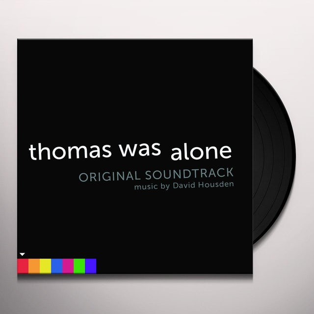 David Housden THOMAS WAS ALONE / Original Soundtrack Vinyl Record