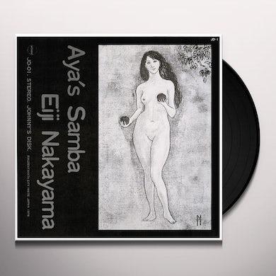 Eiji Nakayama AYA'S SAMBA Vinyl Record