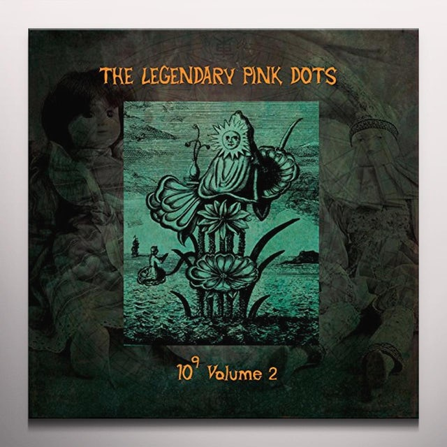 The Legendary Pink Dots 10 TO THE POWER OF 9 Vinyl Record