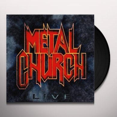 Metal Church LIVE Vinyl Record