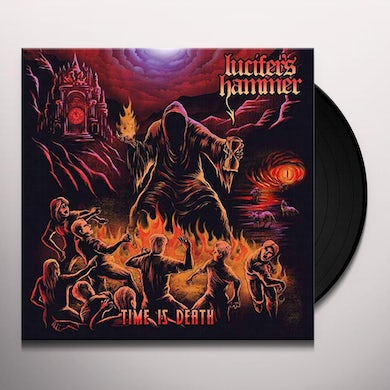 LUCIFER'S HAMMER TIME IS DEATH Vinyl Record