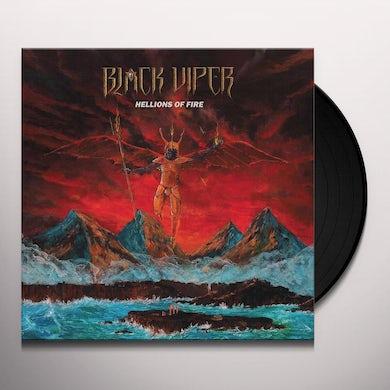 Black Viper HELLIONS OF FIRE Vinyl Record