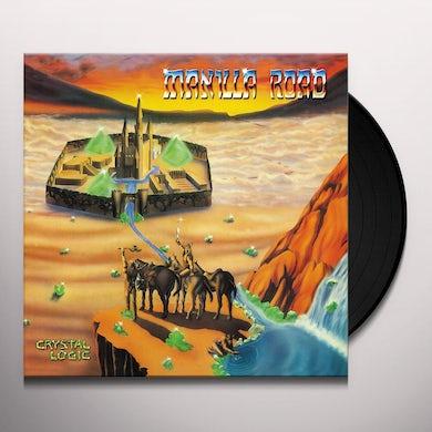 Manilla Road CRYSTAL LOGIC Vinyl Record