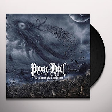 POWER FROM HELL PROFOUND EVIL PRESENCE Vinyl Record