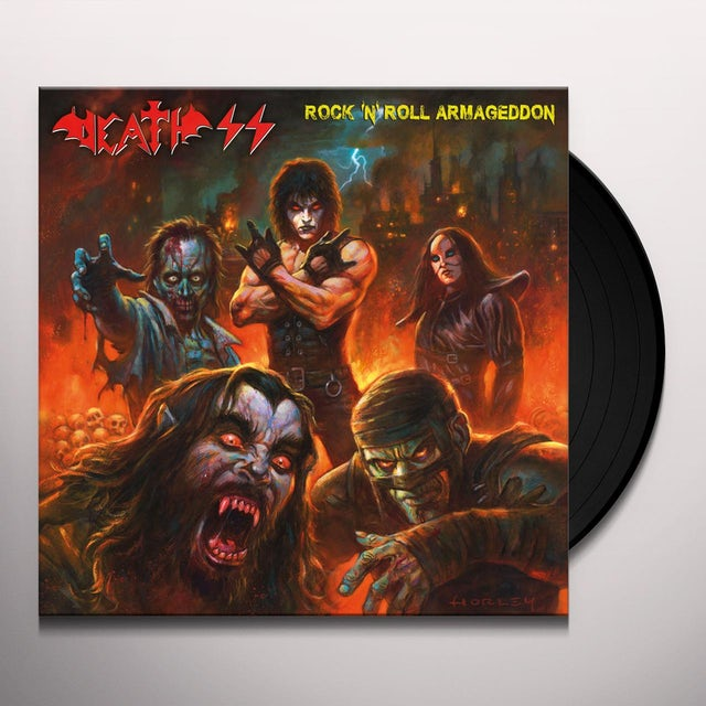 Death Ss ROCK N ROLL ARMAGEDDON Vinyl Record