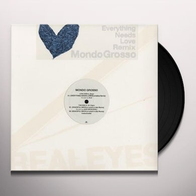 Mondo Grosso EVERYTHING NEEDS LOVE REMIX (JPN) (Vinyl)