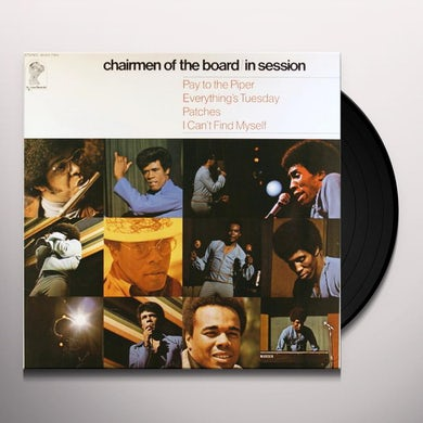 Chairmen Of The Board IN SESSION Vinyl Record