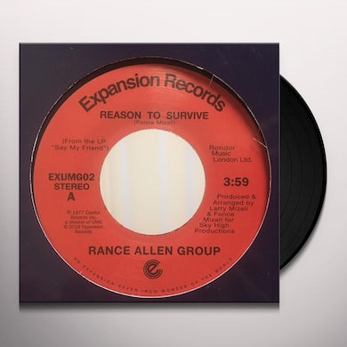 Rance Allen Group REASON TO SURVIVE / PEACE OF MIND Vinyl Record
