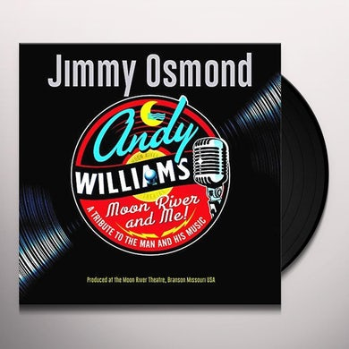 Jimmy Osmond MOON RIVER & ME: A TRIBUTE TO ANDY WILLIAMS Vinyl Record