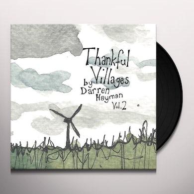 Darren Hayman THANKFUL VILLAGES VOLUME 3 Vinyl Record