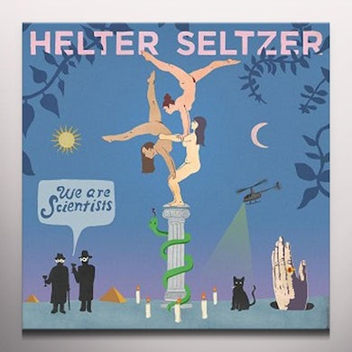 We Are Scientists HELTER SELTZER Vinyl Record