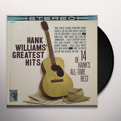Hank Williams GREATEST HITS Vinyl Record