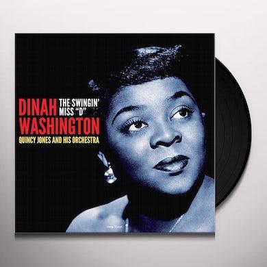 Dinah Washington SWINGIN MISS D Vinyl Record