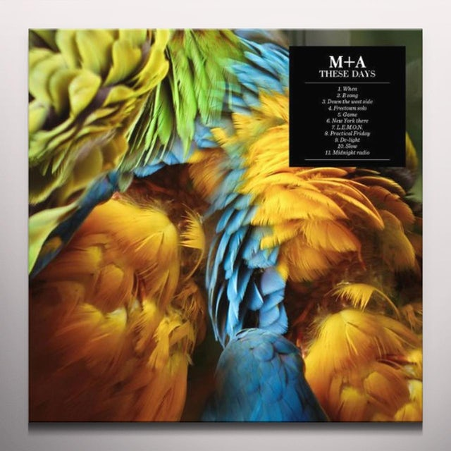 M + A THESE DAYS Vinyl Record