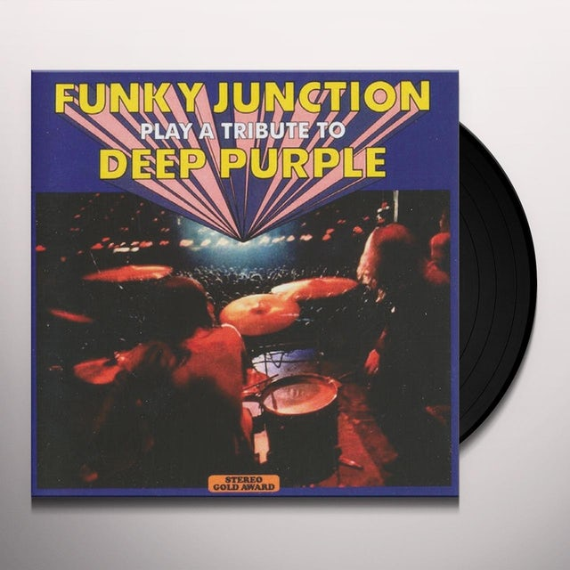 Funky Junction PLAY A TRIBUTE TO DEEP PURPLE Vinyl Record