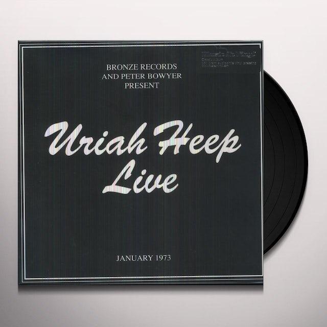 Uriah Heep LIVE 1973 Vinyl Record