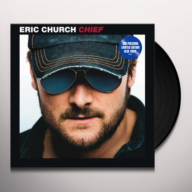 Eric Church Chief (Blue LP) Vinyl Record