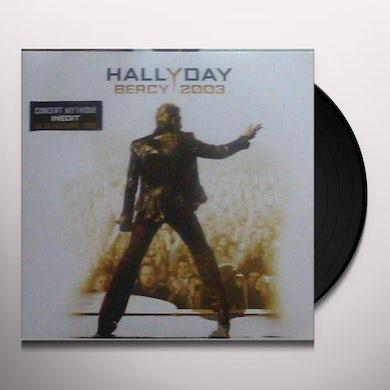 Johnny Hallyday BERCY 2003 Vinyl Record