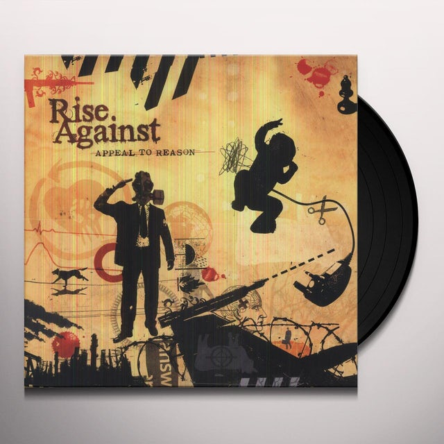 Rise Against APPEAL TO REASON Vinyl Record