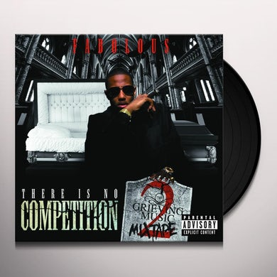 Fabolous THERE IS NO COMPETITION 2: GRIEVING MUSIC MIXTAPE Vinyl Record