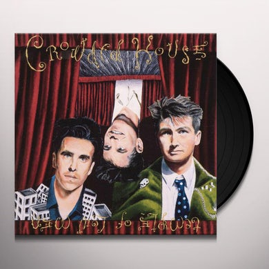 Crowded House TEMPLE OF LOW MEN Vinyl Record