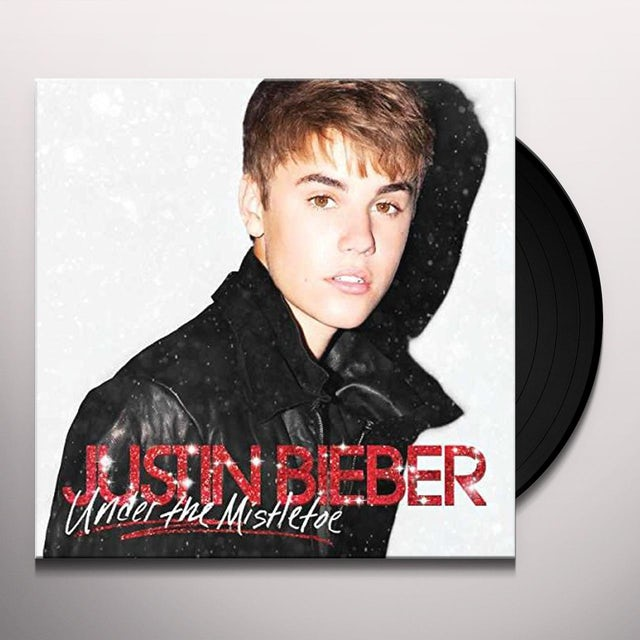 Justin Bieber UNDER THE MISTLETOE Vinyl Record
