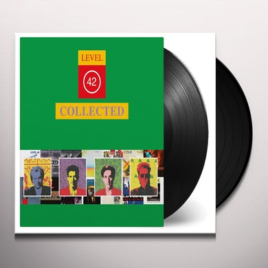 Level 42 COLLECTED Vinyl Record