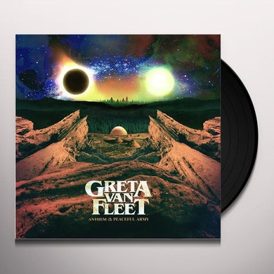 Greta Van Fleet ANTHEM OF THE PEACEFUL ARMY Vinyl Record
