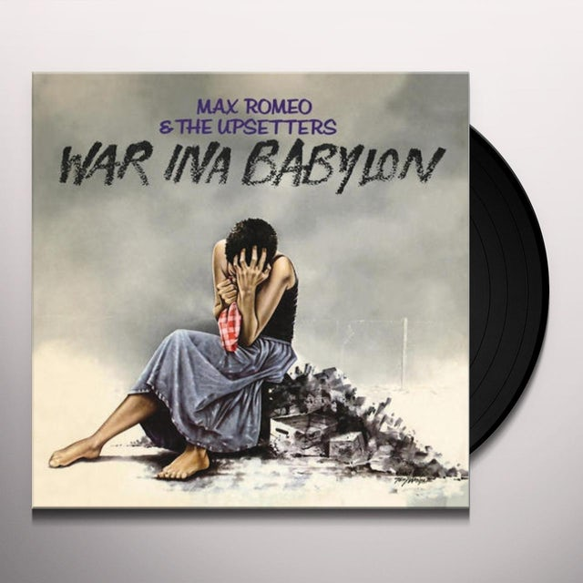 Max Romeo WAR IN BABYLON Vinyl Record