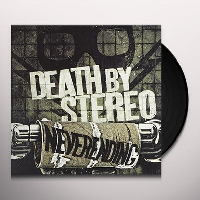 Death By Stereo NEVERENDING Vinyl Record