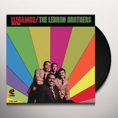 Lebron Brothers LLEGAMOS: WE'RE HERE Vinyl Record