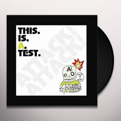 Attack Attack THIS IS A TEST Vinyl Record