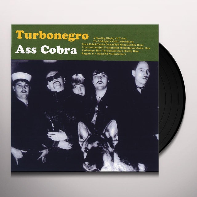 Turbonegro ASS COBRA Vinyl Record