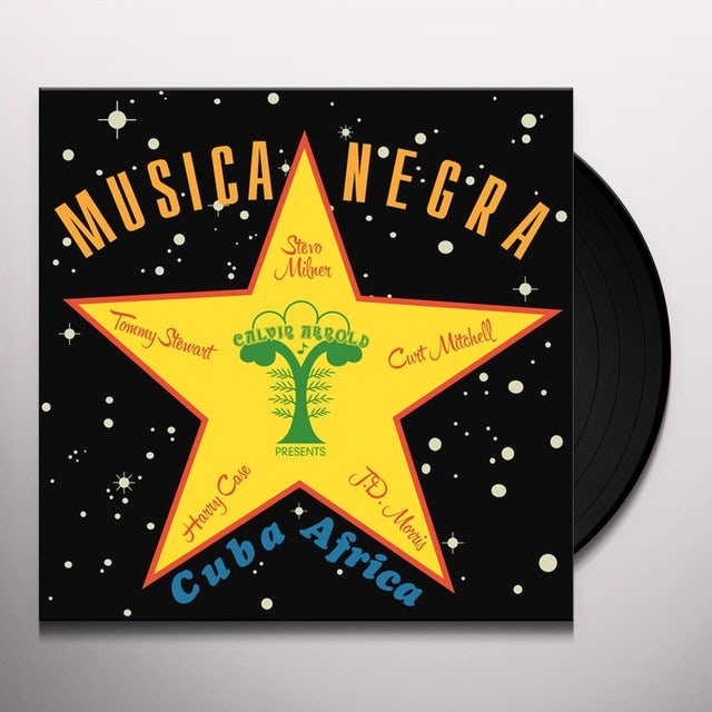 Stevo MUSICA NEGRA Vinyl Record