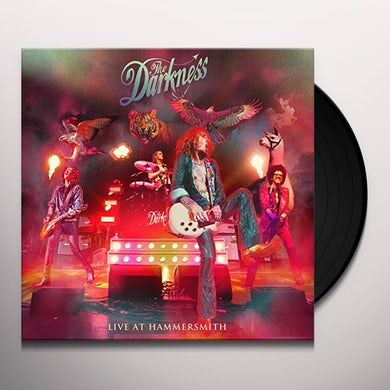 The Darkness LIVE AT HAMMERSMITH Vinyl Record
