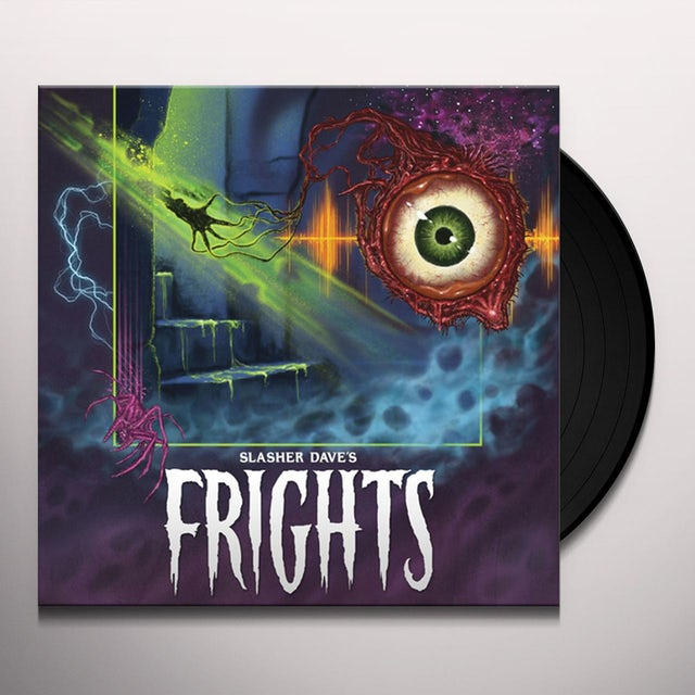 SLASHER DAVE FRIGHTS Vinyl Record