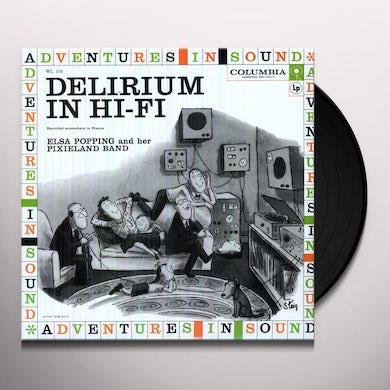 Delirium In Hi-Fi ELSA POPPING & HER PIXIELAND BAND Vinyl Record