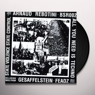 Arnaud Rebotini ALL YOU NEED IS TECH Vinyl Record