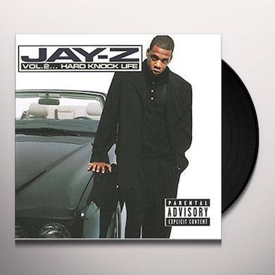 Jay Z VOLUME 2: HARD KNOCK LIFE Vinyl Record