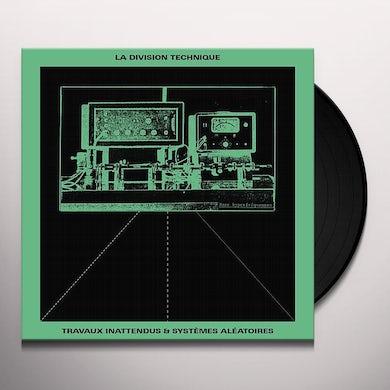 Division Technique TRAVAUX INATTENDUS SYSTEMES ALEATOIRES Vinyl Record