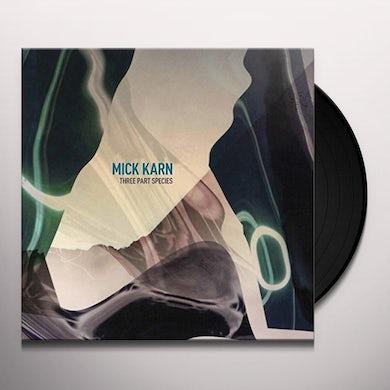 Mick Karn THREE PART SPECIES Vinyl Record