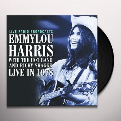 Emmylou Harris LIVE IN 1978 Vinyl Record