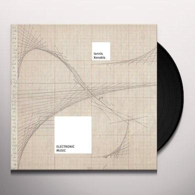 Iannis Xenakis ELECTRONIC MUSIC Vinyl Record