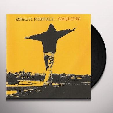 Assalti Frontali CONFLITTO Vinyl Record