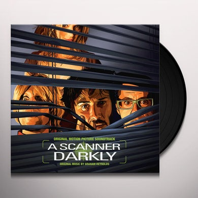 Graham Reynolds A SCANNER DARKLY / Original Soundtrack Vinyl Record