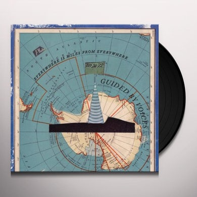 Guided By Voices EVERYWHERE IS MILES FROM EVERYWHERE Vinyl Record