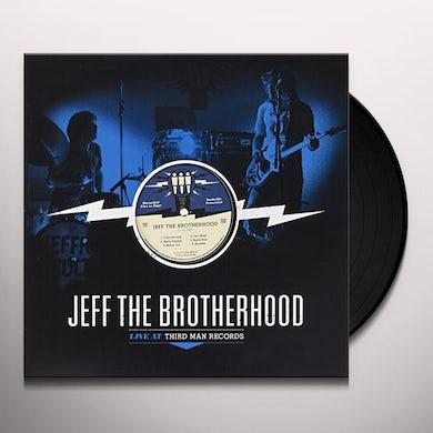 Jeff The Brotherhood THIRD MAN LIVE 10-01-2010 Vinyl Record